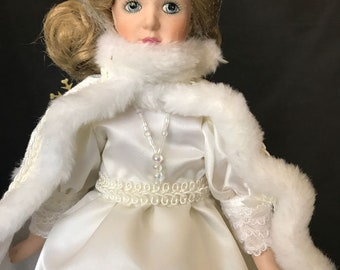 "12"" Snow Queen Storybook Doll"