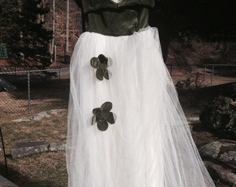 Vintage Bridesmaid Gown, 1947 - Retro Gown - Prom