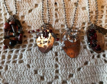Stamp Spoon Necklaces