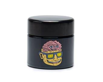 UV Screw-Top Stash Jars