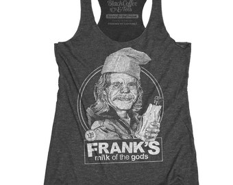 Shameless Shirt- Womens Frank GallagherShirt - Frank from Shameless Milk of the gods Beer Shirt Hand Screen Printed Tank Top