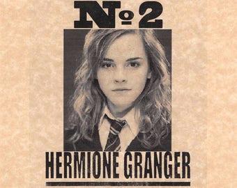 Harry Potter Undesirable Number 2 Hermione Granger Flyer Prop/Replica > Emma Watson