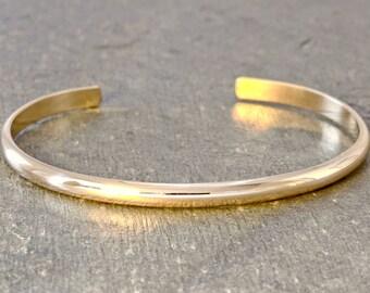 Gold cuff bracelet Etsy