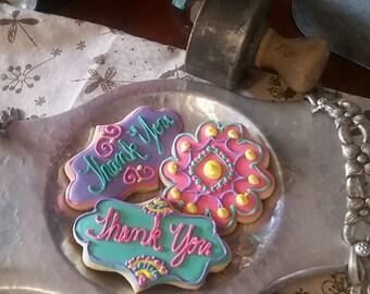 Thank You Cookies - 1 dozen