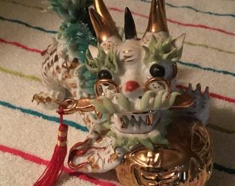 Dragon, Chinese dragon, glass dragon