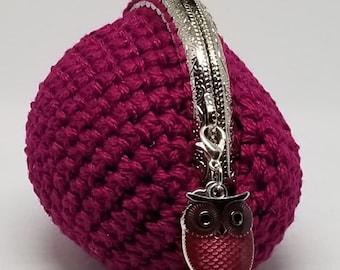 """Crochet coin purse 3.5""""X 3.5"""" **LQQK**"""