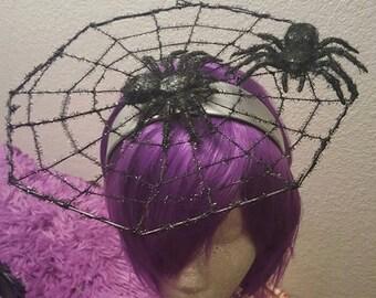 Spiderweb, Spiderweb hat, Spider, Spiders, Gothic, Halloween, Ready to ship