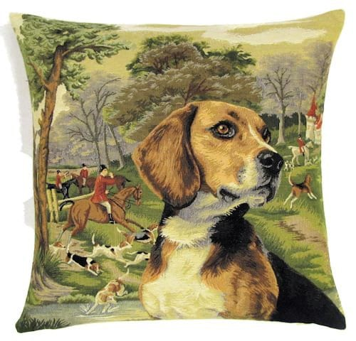 Dog Threw Up On Rug: Beagle Pillow Cover