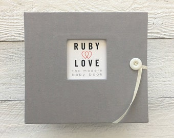 BABY BOOK | Solid Ash Gray Album