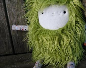 Merry Monster™ - Plush Green Monster Lovable - Owen