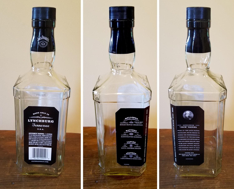 Jack Daniels Empty Bottles 1.75 Liters - 5 Available Jack Daniels ...