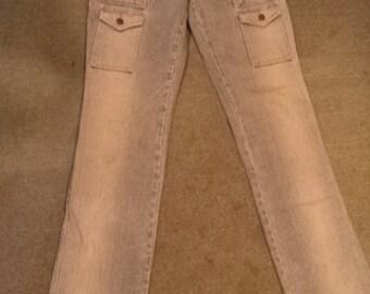 Vintage V.S. London Lowrider Cargo Jeans size 6