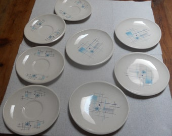 Vintage  8 Misc. Pieces Fransican Earthware