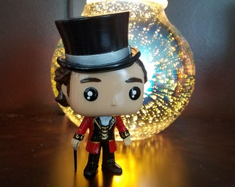 The Greatest Showman Phineas Barnum Custom Funko Pop hand painted PT Barnum ringmaster circus musical