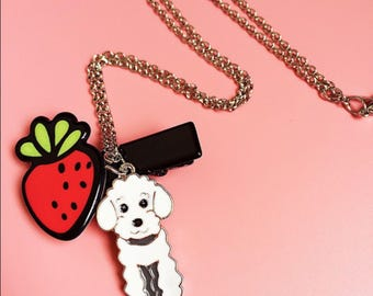 Poodle/Labradoodle necklace