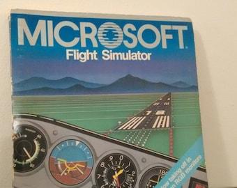 Microsoft Flight Simulator v2.12 (1984)[Floppy Disk]