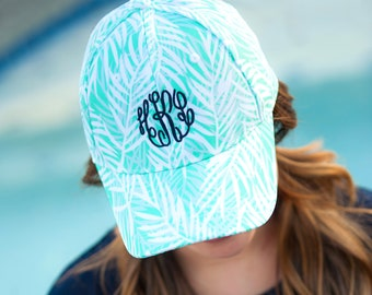Poolside Monogram Cap for Women
