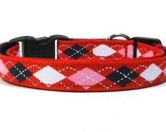 The Prep School Argyle Breakaway Cat Collar