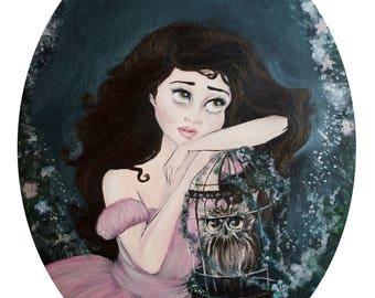Charlotte Fine Art Print