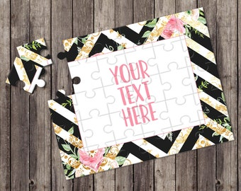 Create Your Own Puzzle - Pregnancy Announcement - Custom Puzzle - Personalized Puzzle - Announcement Ideas - Wedding Announcement - CYOP0051