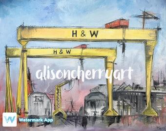 Belfast H&W Cranes