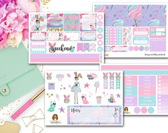 Cotton Candy Kisses Horizontal Kit