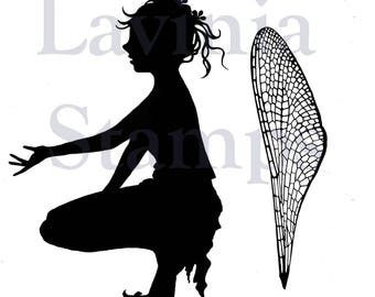 Lavinia Stamps Clear Rubber Stamp - Shaylee