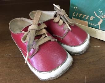 Vintage Little IMP Red Shoes