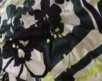 Cotton silk fabrics Tricolor besides 150 wide