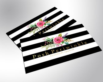 Gold Foil Business Cards, Bold Beautiful
