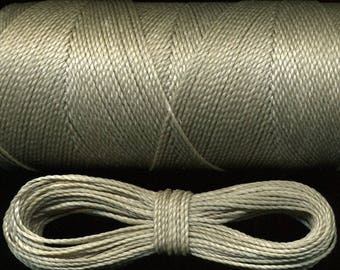 10 m thread Linhasita 544 macramé, gray