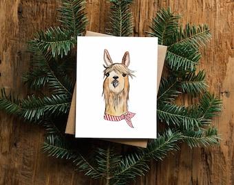 Llama Greeting Card - Blank Inside