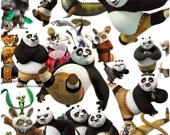 Kung Fu Panda clipart