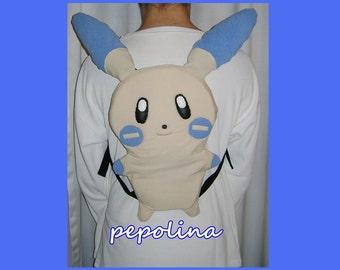 Minun Pokemon Backpack