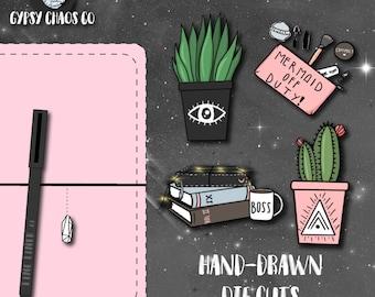 Urban Chic - Hand-Drawn Die Cuts (DC13)