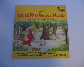 Walt Disney - Little Red Riding Hood & Other Best Loved Fairy Tales! - Circa 1969