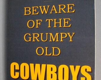 North Queensland Cowboys Grumpy Old Rugby League Footy Football Sign Bar Pub Man Cave