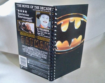 Cahier de boîte pour le VHS Batman