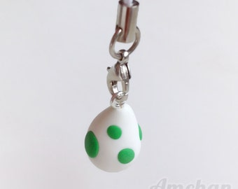 Yoshi Egg Strap Charm