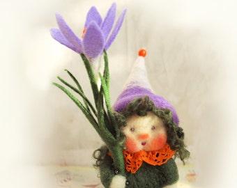 Crocus flower child