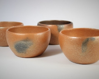 Set of 4 Pottery Bowls holds 2 c. each, Rice Bowls, Chili Bowls, Noodle Bowls, Soup Bowls, Salad Bowls, Serving Bowls