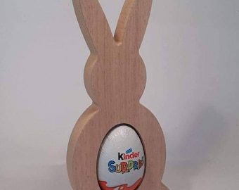 Oak Kinder Egg Rabbit/Easter Gift