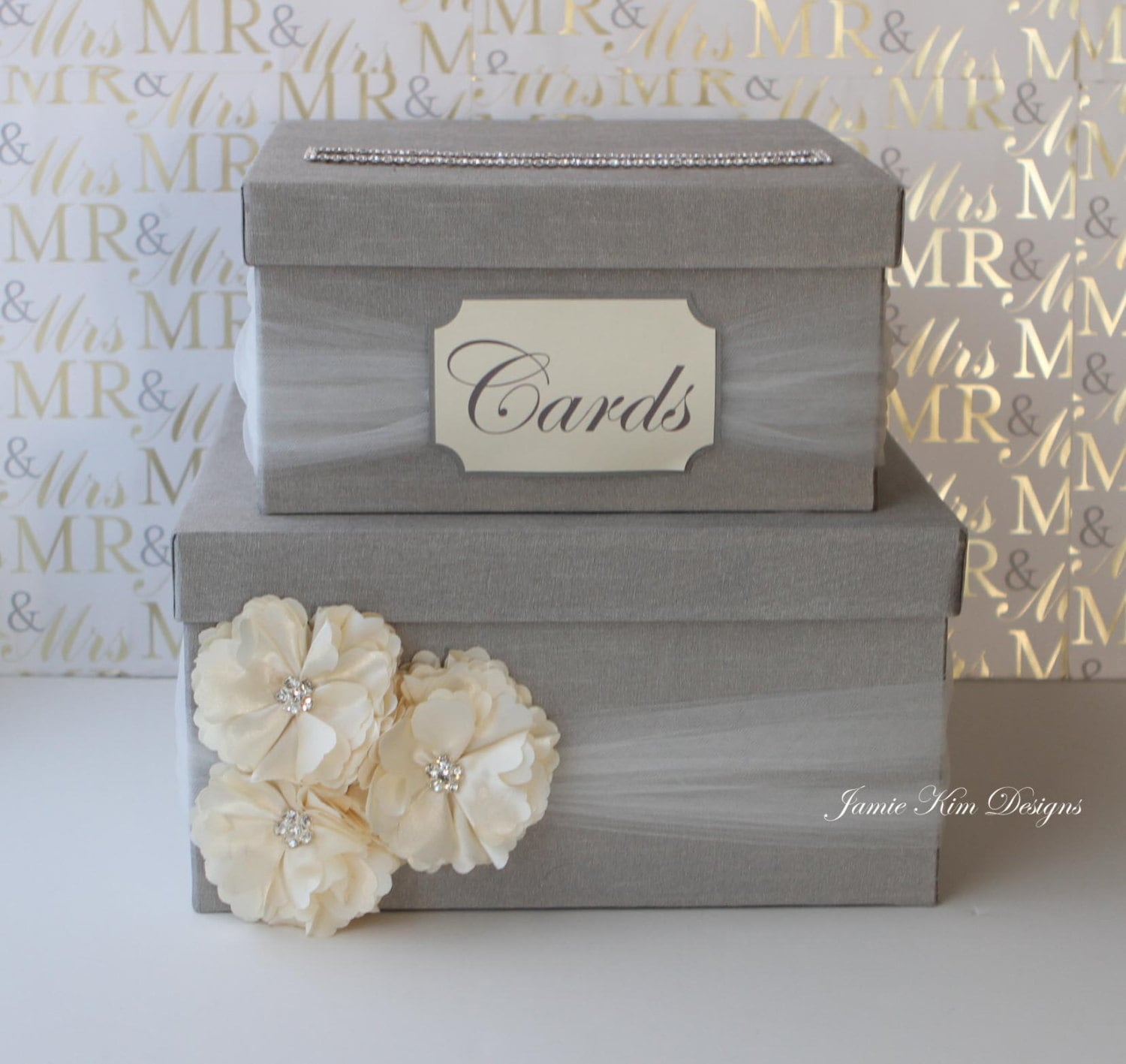 Unique Wedding Card Holder Ideas: Wedding Card Box Money Box Custom Card Box Custom Made To