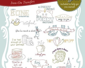 Kitschy Sayings, Embroidery Transfer, Embroidery Pattern, Stitchers Revolution, Hand embroidery, Pattern