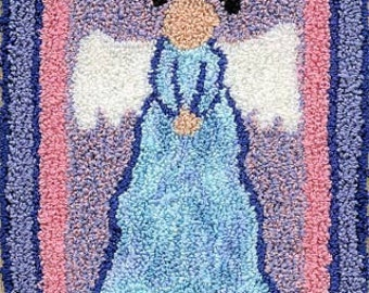 Angel - Miniature Punch Needle Embroidery PATTERN