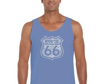 Men's Tank Top - Route 66 - Get Your Kicks