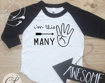 Birthday Boy Raglan / Baby Boy Clothes 4 Year Old Outfit Fourth Birthday TShirt 4th Birthday Boy Outfit Birthday Four Shirt Toddler 113