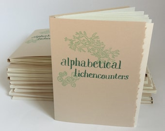 Alphabetical Lichencounters