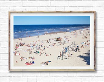 Costal Ocean Wall Art Print, Beach Photography, Coastal Decor, Modern Photography, Printable Large Poster, Digital Download.