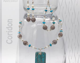 Jewelry Set | Necklace, Bracelet, Earrings | Coridon PG40230810